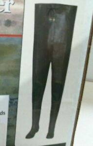 Brand new- Pro Line Chest Rubber Waders with Felt Soles and knee pads - Size 10