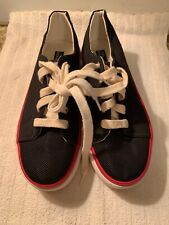No Boundaries Womens Size 9 Athletic Tennis Casual Sneakers Black Red White New