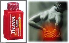Tylenol Extra Strength Acetaminophen 500 mg each. 325 caplets OTC-타이레놀