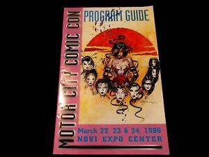 Motor City Program Guide - 1996