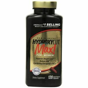 Muscletech Hydroxycut Pro Clinical Max 120 capsules LONG DATE