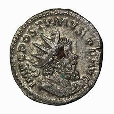 Postumus 259-268 AD Silver AR Antoninianus Teveri Mint Ancient Roman Coin RIC.83