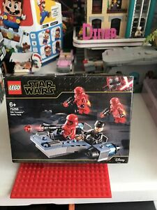 Lego Star Wars 75266 - Sith Troopers Battle Pack - Brand New And Sealed