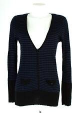 REVIEW Strickjacke Gr. L Rippenstrick Cardigan Strick Feinstrick Knit Jacket