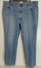 LL Bean Jeans 40x29 Classic Fit Light Wash Straight Relaxed Leg 100% Cotton Mens