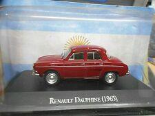 RENAULT Dauphine Limousine rot red 1965 Argentina Atlas IXO Altaya SP 1:43