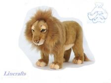 Standing Lion Plush Soft Toy Wildcat by Hansa from Lincrafts. 5771