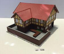 Heljan 1789 H0 Landgasthof mit Terasse,fertig geklebt, 1:87, selten und RAR