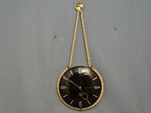 Mécanique 50er Années Horloge Murale Midcentury Modernism Incl. Liquidation