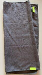AQUIS Original Hair Towel Ultra Absorbent & Fast Drying Microfiber Gray - NWOP