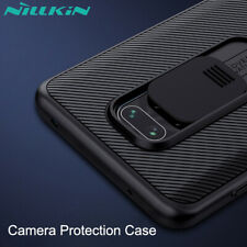For Xiaomi Redmi Note 9S 9 Pro NILLKIN Luxury Camera Protection Slide Case Cover