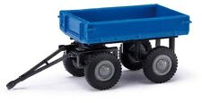 Busch 210009502 - 1/87 / H0 E-Karre / Anhänger - Blau - Neu