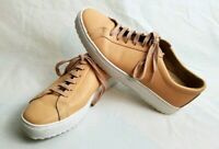 TCG Kennedy Lug Leather Low Top Womens Sneakers Sandstone Size 42   1-11 1/2 US.