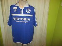 """FC Schalke 04 Adidas Trikot 2001/02 """"Victoria Versicherungen"""" Gr.XL- XXL TOP"""