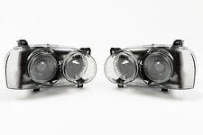 Volkswagen Golf MK3 92-97 Smoked Projector Headlights Set Pair Hella DE Look