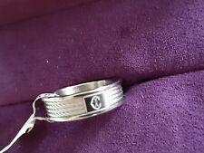 Charriol forever steel ring size 54