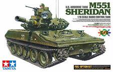 Tamiya 56043 - M551 Sheridan - US Airborne Tank - RC Full Option Kit - 1:16