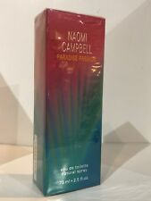 Paradise Passion By Naomi Campbell  Women Perfume EDT Spray 2.5oz 75ml Sealed