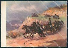 Militari 10º Reggimento Artiglieria Volturno Tafuri FG cartolina XF1731