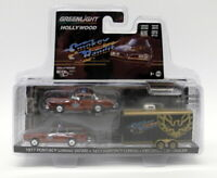 Greenlight 1/64 - 31080-B Smokey Bandit 1977 Pontiac Le Mans + Safari Set