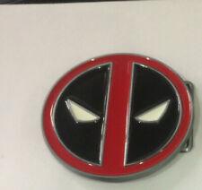 DEADPOOL X-Men Wade Wilson Belt Buckle XMen marvel red black enamel