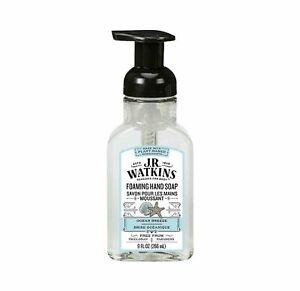 J.R. Watkins Ocean Breeze Scent Foam Hand Soap 9 FL Oz