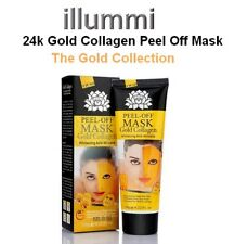 24K Gold Collagen Peel Off Mask Anti-aging Skin and Wrinkle Smoothing UK SELLER