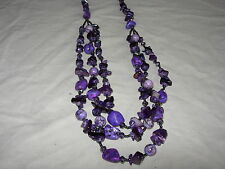 large stunning gemstone necklace wow wow ln6