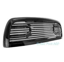 For 10-18 Dodge Ram 2500 3500 4500 Big Horn Front Bumper Upper Grill Shell Black