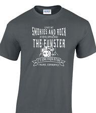 Inspiré par la reine t-shirt le funster garnis et rock m gris anthracite un seul