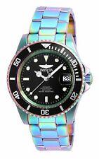 Invicta Men's Watch Pro Diver Automatic Black Dial Iridescent Bracelet 26600