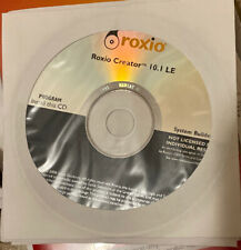 Brand New Sealed Roxio Creator 10.1 LE CD OEM FREE SHIPPING!