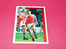 PETER MÖLLER DANEMARK FUTURE STARS FOOTBALL CARD UPPER USA 94 PANINI 1994 WM94
