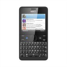 Nokia Asha 210  - Black (Unlocked) Mobile Phone