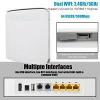 E5186S-22A WIFI ROUTER MODEM 4G LTE 300MBPS CAT6 SIM RJ11 WIRELESS HOTSPOT CPE.