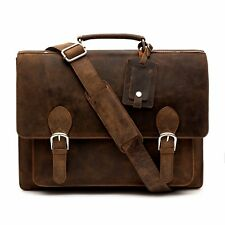 Porterbello Leather Satchel Briefcase Laptop Bag