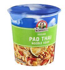 Dr Mcdougalls Vegan Pad Thai Noodle Soup, Fresh Flavor - 2 OZ (Pack 6)