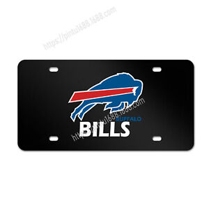 Buffalo Bills Liscense Plate Aluminum Metal License Plate Car Tag Cover Fans Tag