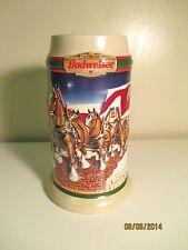 1998 BUDWEISER HOLIDAY STEIN - GRANT'S FARM - NR
