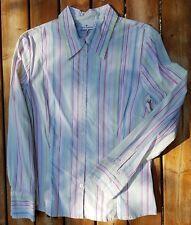 Tom Tailor Damen Bluse weiß mit Streifen Größe 40