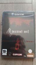 RESIDENT EVIL 4 sur GAMECUBE NEUF ( Sous Blister OFFICIEL Version FRANCAISE Lire