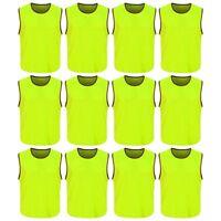 Sports team Scrimmage Training Vests Soccer Team  Mesh Vests 6 pcs Pack
