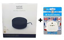NATIVE UNION Eclipse 3-Port USB Charger+Converter For Galaxy Note 10/S10 - NAVY