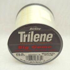 "Berkley Trilene Super Strong Big Game Monofilment Fishing Line 10lb 0.012"" dia C"