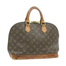 LOUIS VUITTON Monogram Alma Hand Bag M51130 LV Auth yk461