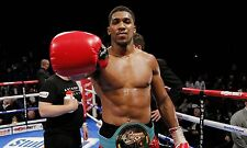 Anthony Joshua A3 260gsm Boxing Photo Picture