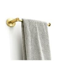 Paper Towel Rack Holder Single Bar Rail Hanger Shelf Bathroom Accessories SUS