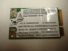 Intel WM3945ABG PRO MOW1 Wireless 802.11 bgn Mini PCIE Card