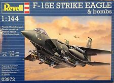 Revell 1/144 F-15E Strike Eagle and bombs Plastic Model Kit 03972