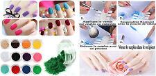 nail art poudre de velours lot de12 pots vernis ongles paillettes vernis